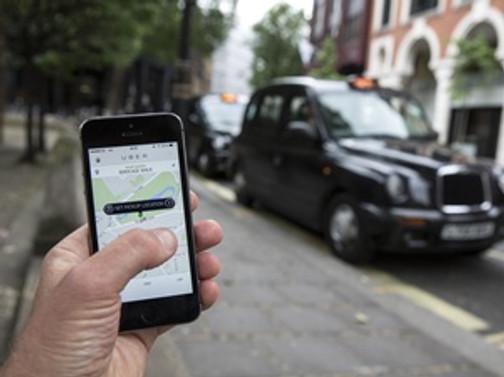 Uber'le ulaşım sağlamak yasaklandı
