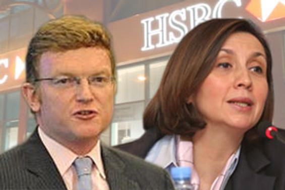 HSBC'de Spurling geliyor, Antika gidiyor