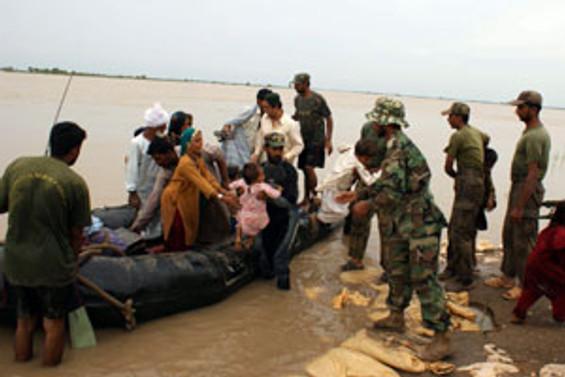 Pakistan'da Muson yağmurları sürüyor