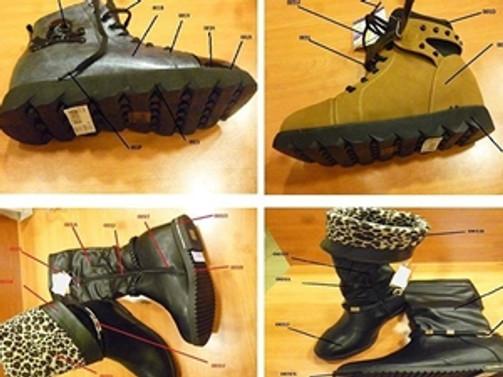 Bakan açıkladı: O ayakkabıların hepsi Çin malı