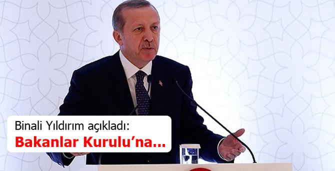 2015'ten itibaren kabineye Erdoğan başkanlık edecek