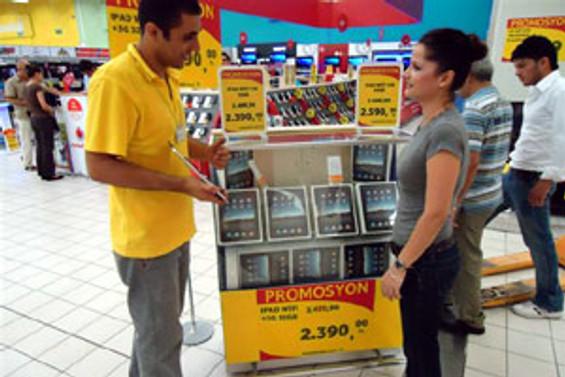 iPad, Kipa'da satılacak