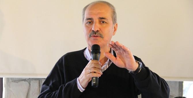 Kurtulmuş'tan 'Kobani' açıklaması