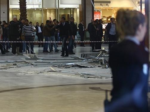 AVM'nin tavanı çöktü: 3 yaralı