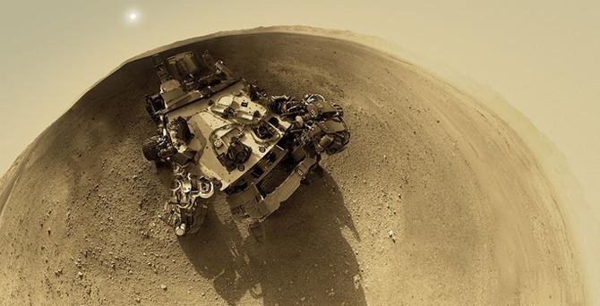 Mars'ta hayat belirtisi var!