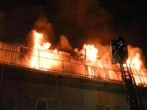 İkitelli'de korkutan yangın