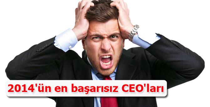 2014'ün en başarısız CEO'ları