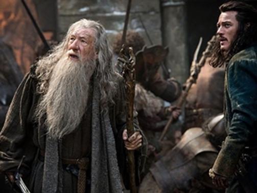 """""""Hobbit"""" ilk günden rekor kırdı!"""