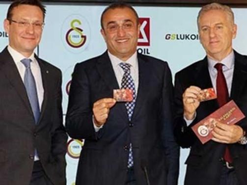 Galatasaray, Lukoil ile işbirliği yaptı