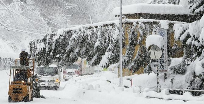 Japonya'da kar 11 can aldı