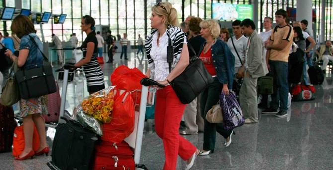 Turizmcinin gözü paralı Ruslar'da