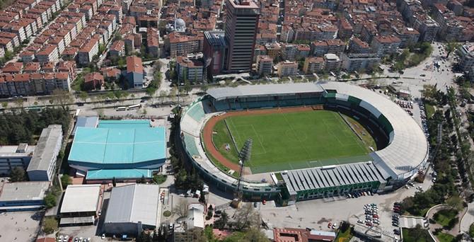 Bursa Atatürk Stadı meydan oluyor