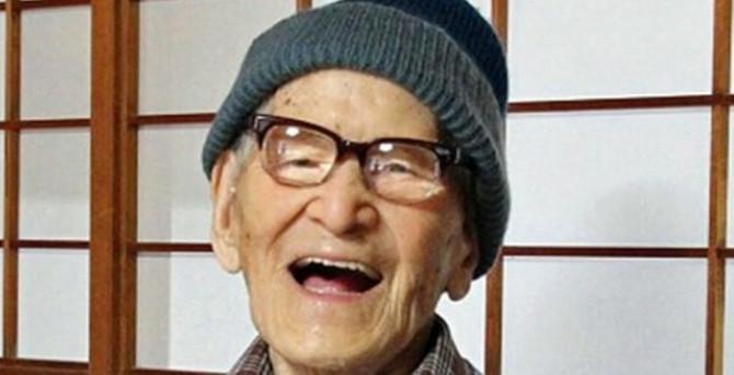 ABD'nin en yaşlı erkeği öldü