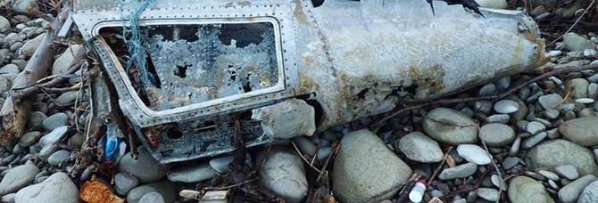 Karadeniz'de esrarengiz uçak parçası