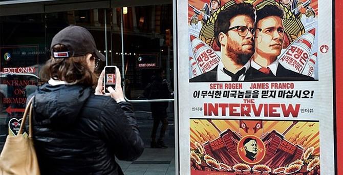 Sony'nin tartışmalı filmi internette gösterimde
