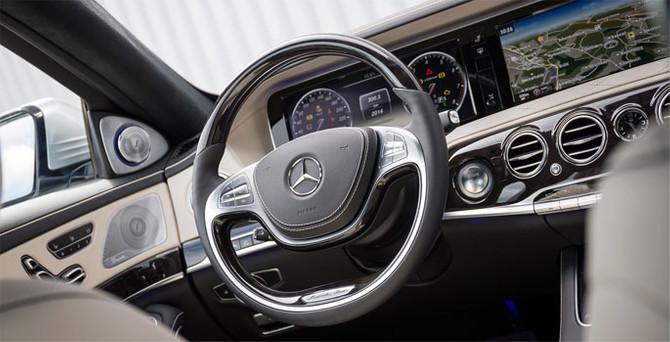 Mercedes'in şoförsüz arabaları geliyor