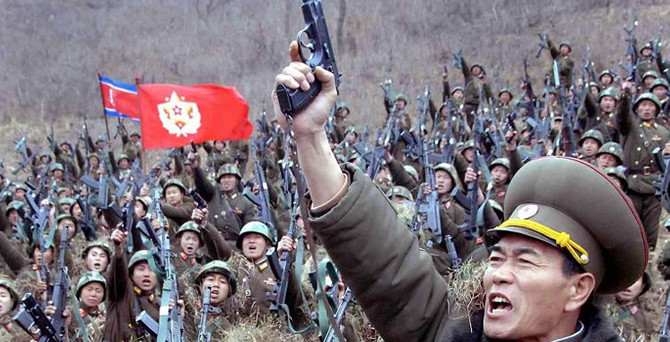 Kuzey Kore'den savaş hazırlığı