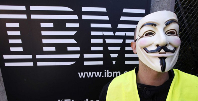 IBM hisseleri çakıldı