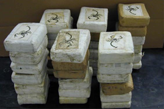 5.4 kilo kokain ele geçirildi
