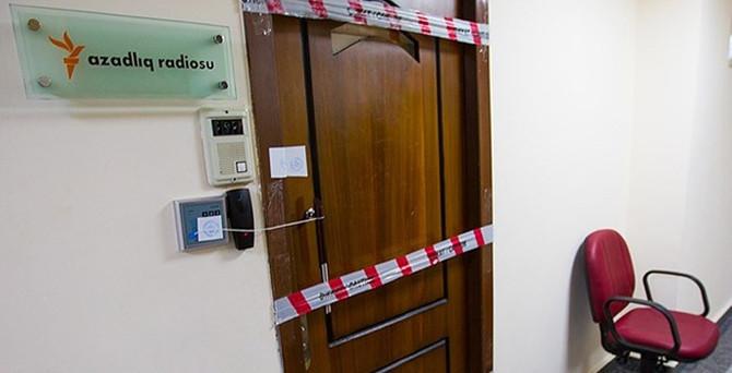 Özgür Avrupa Radyosu'nun ofisi mühürlendi!