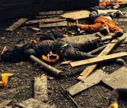 İnşaat iskelesi çöktü:10 ölü