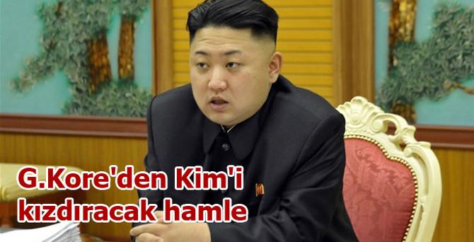 Güney Kore'den Kim'i kızdıracak hamle
