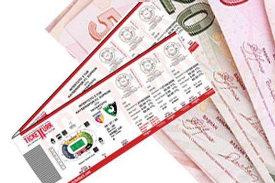 İstanbul'da zam şampiyonu maç bileti