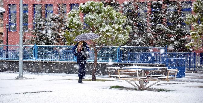 Meteoroloji'den nisanda 'kar' uyarısı!