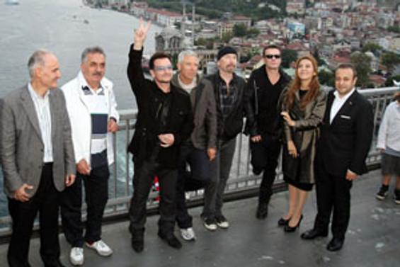 Köprü'den U2 geçti
