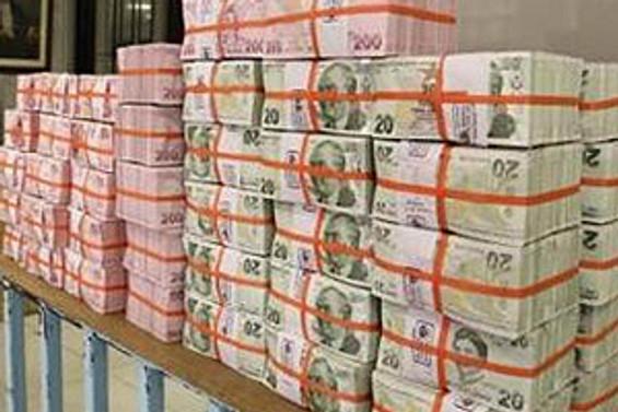 Bütçe 1 milyar lira fazla verdi