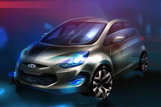 Hyundai ix20'yi Paris'te tanıtacak