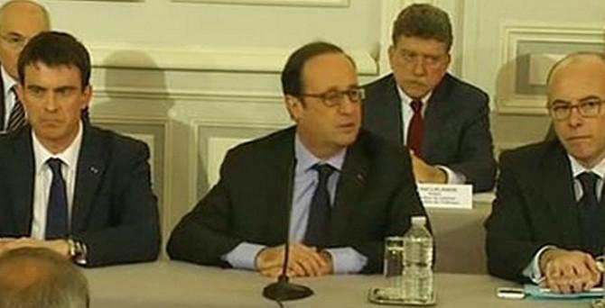 Hollande'dan operasyon açıklaması