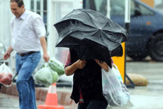 İzmir ve Edirne'de yağış alarmı