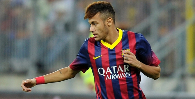 Neymar'dan hoşgeldin mesajı