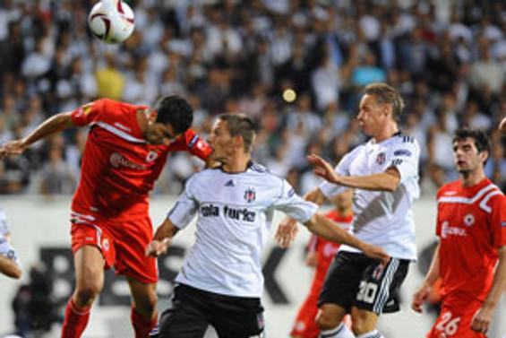 Beşiktaş grup maçlarına iyi başladı