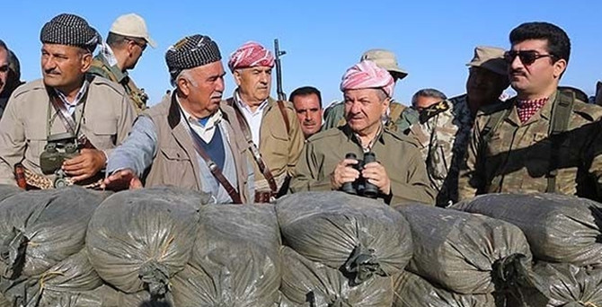 Barzani'den Başika ziyareti