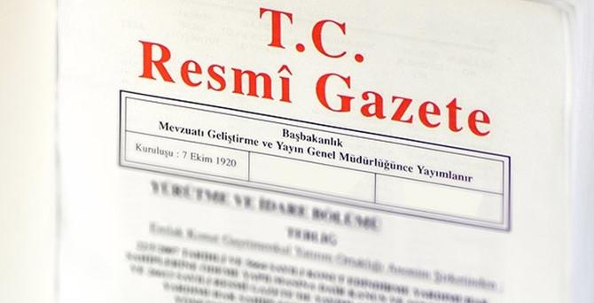 Kamuda izin yasağının kalkması Resmi Gazete'de