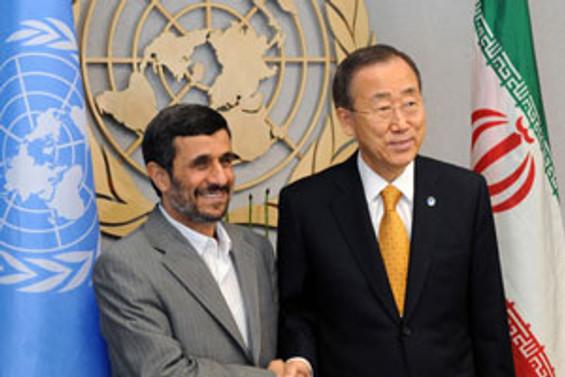 Ahmedinejad konuştu, batılılar salonu terk etti