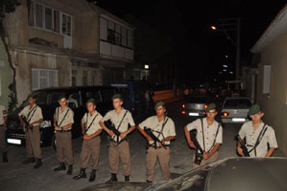 Askerlik şubesine silahlı saldırı