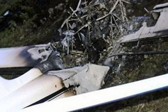 Hırvatistan'da küçük uçak düştü