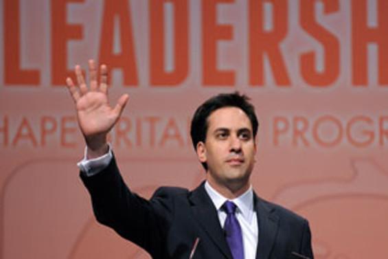 İşçi Partisi'nin yeni lideri Ed Miliband
