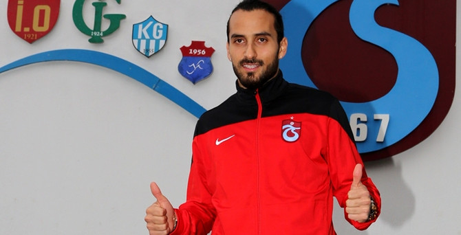 Erkan Zengin, resmen Trabzonspor'da