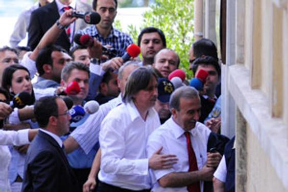 Hanefi Avcı İstanbul Adliyesi'nde