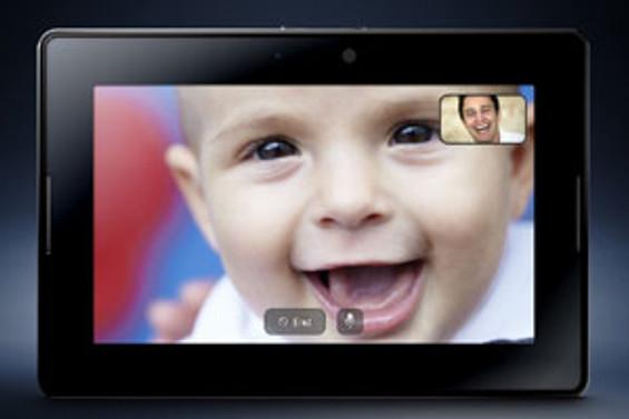 BlackBerry, iPad'e rakip PlayBook'u tanıttı