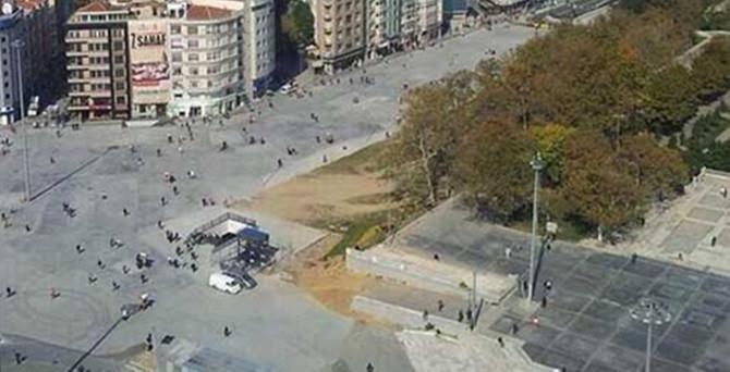 Taksim Meydanı için tarih belli oldu