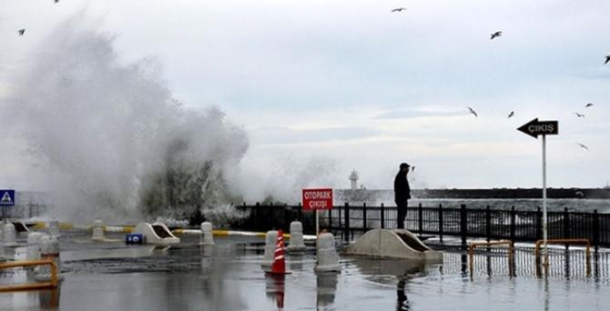 Marmara'ya lodos uyarısı