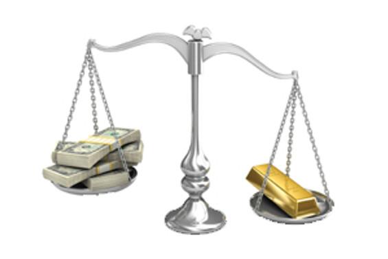 Altın yeniden 1400 doların altında