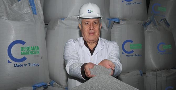 Bergama'dan perlit için 100 milyon dolarlık yatırım