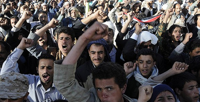 Husiler 'Aden'in kalbi'ni ele geçirdi