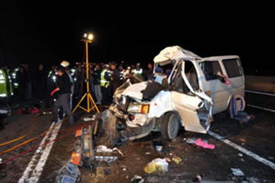 Bolu Dağı'ndaki feci kazada 4 kişi öldü